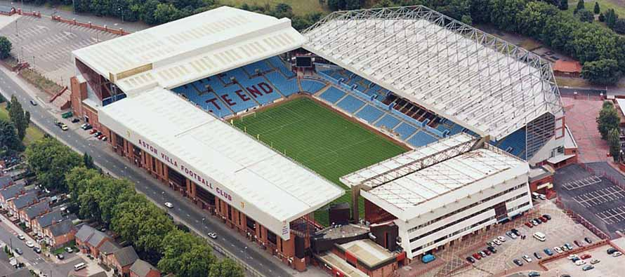 Aerial View of Villa Park