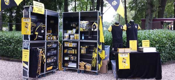 Vitesse Arnhem merchandise stall