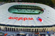 Aerial view of Besiktas Vodafone Arena