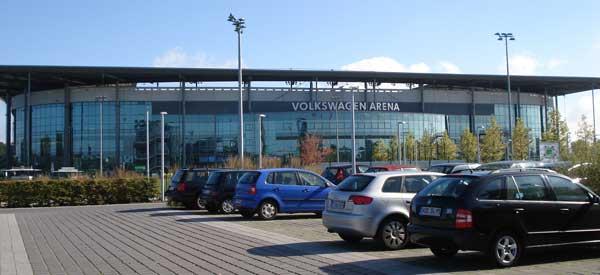 Volkswagen Arena Car Park.