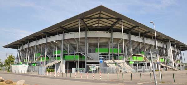 Volkswagen Arena corner.