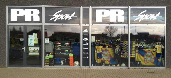 Exterior of Waasland Beveren fan shop