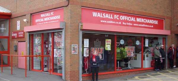 Walsall shop