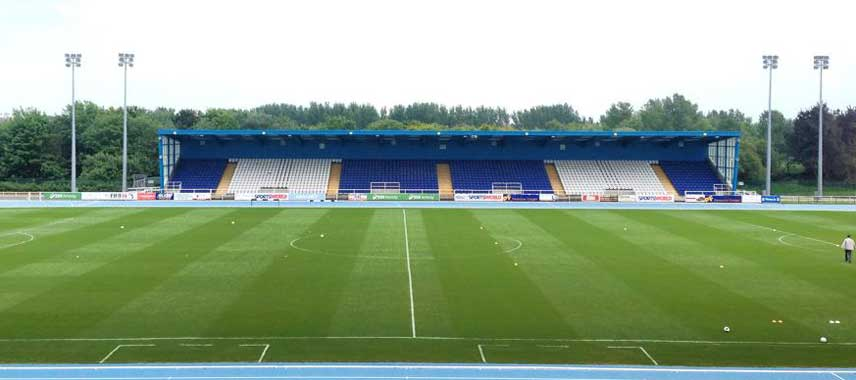 Inside Waterford Regional Stadium
