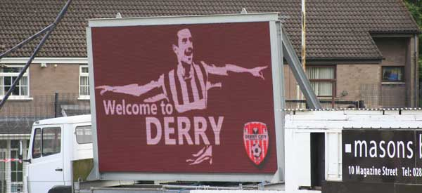 Welcome to Derry.
