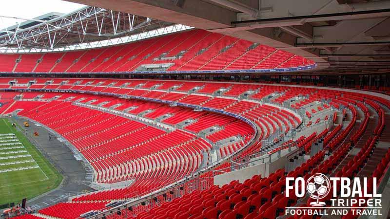 Wembley Stadium England National Team Football Tripper