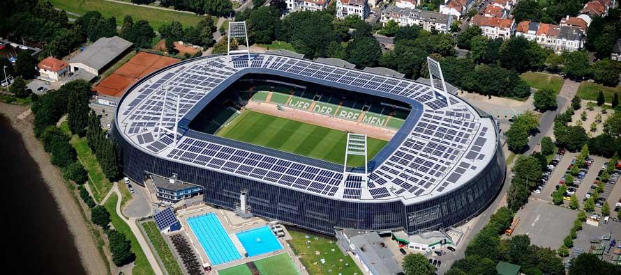Weserstadion Exterior