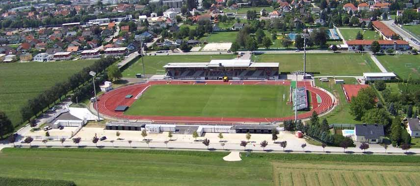 Stadion Wac Lavanttal Arena aerial