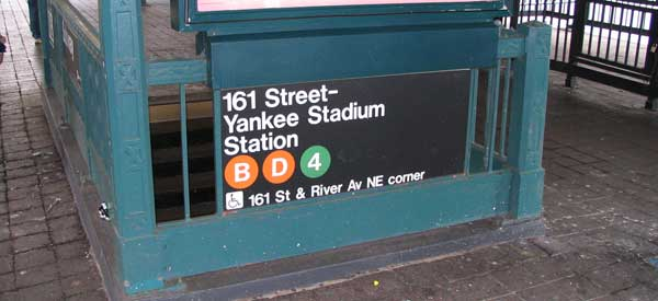 161 Street - Yankee Stadium Station is one of the easiest ways to travel to the stadium on matchdays.