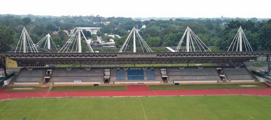 Main stand of Yishun Stadium