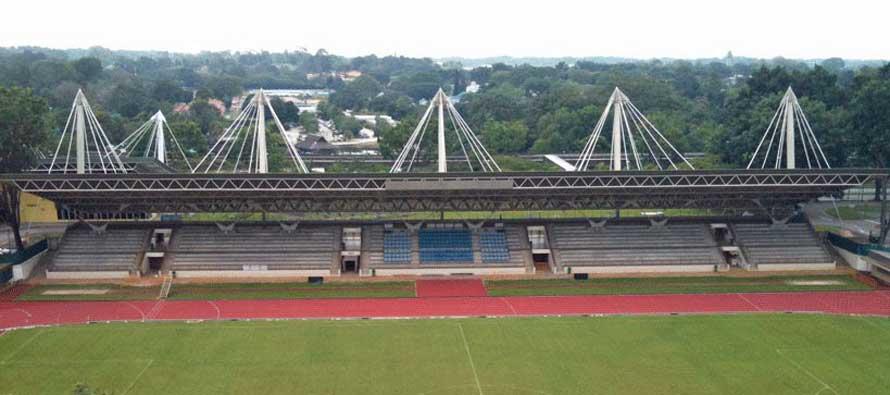 Main stand of Yishun Stadium