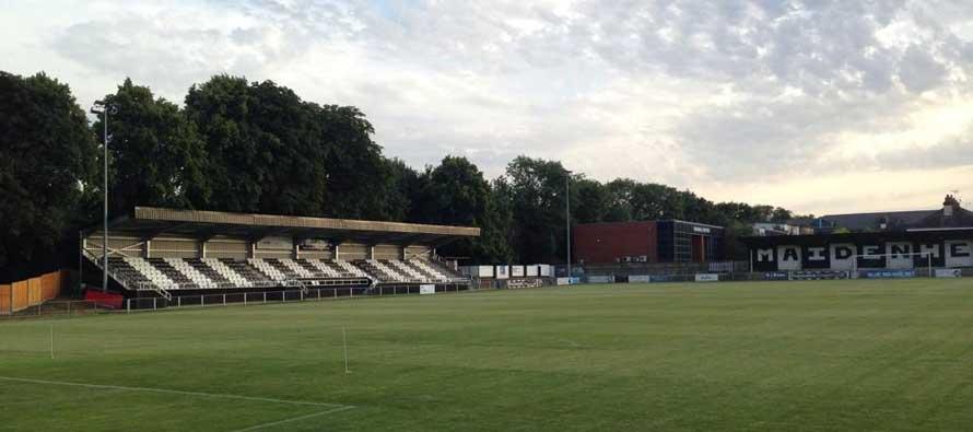 Main stand of York road football ground