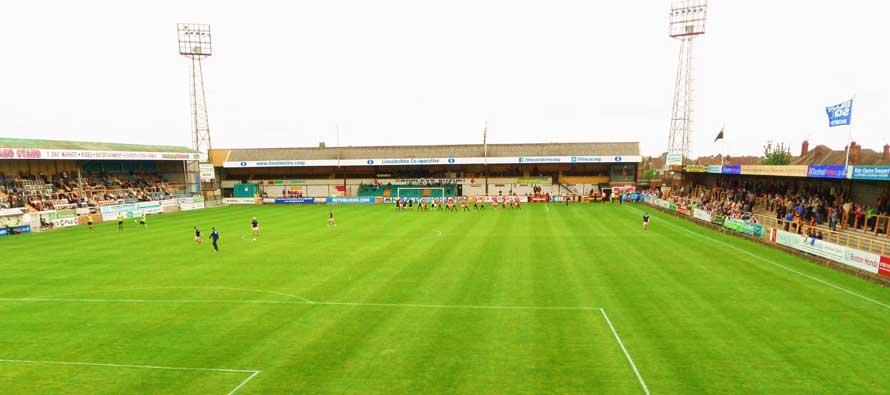 The pitch at York Street stadium