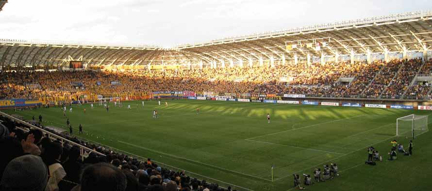 Inside Yurtec Stadium on matchday
