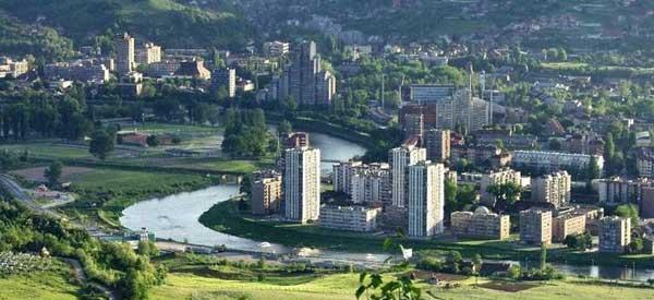 Zenica city centre