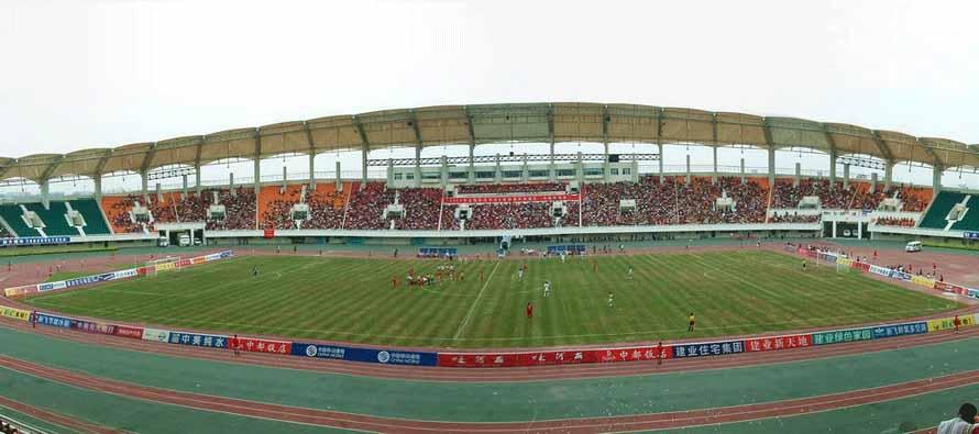 Inside Zhengzhou Hanghai Stadium
