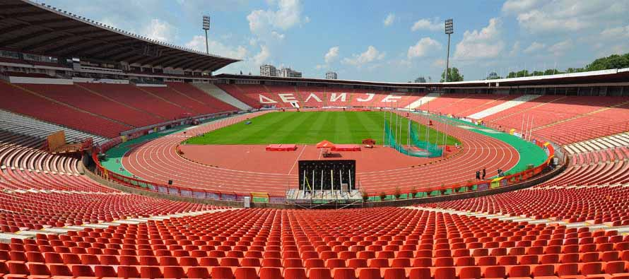 A look inside Zvezda Stadium